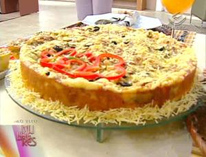 Receita de Torta Suflê de Berinjela