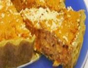 Torta suflê com legumes