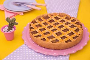 Receita de Torta Trançada de Frango com Cebola Caramelizada