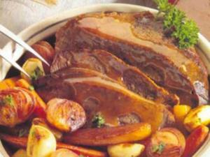 Receita de Tradicional Carne Assada de Panela