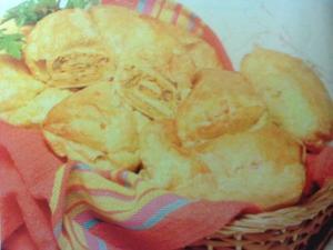 Receita de Travesseiros de Legumes