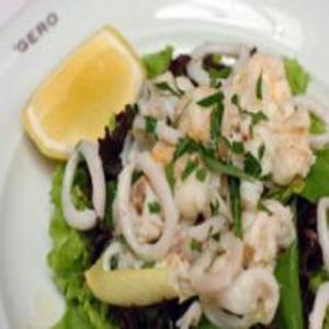 Receita de Vinagrete de frutos do mar
