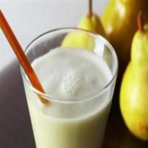 Receita de Vitamina com mel e pêra