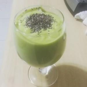 Receita de Vitamina de Abacate com Chia