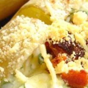 Receita de Batata recheada com queijo