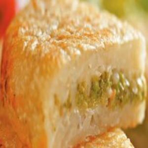 Receita de Batata Suíça Recheada com Brócolis