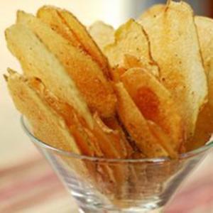Receita de Batatas chips de microondas