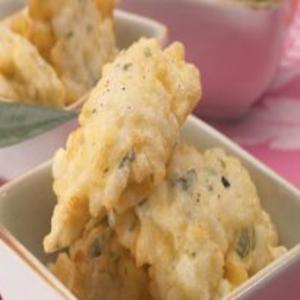Receita de Bolinhos de arroz e queijo