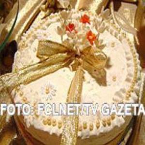 Receita de Bolo confeitado para Casamento e/ou Aniversário
