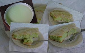 Receita de Bolo verdinho de limão