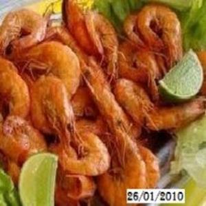 Receita de Camarão ao Alho e Azeite