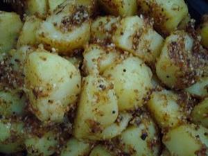 Receita de Caril de Batatas com Sementes de Gergelim