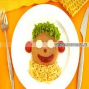 Receita de Carinha de Hambúrguer