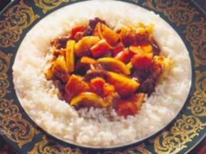 Receita de Carneiro ao Curry Madras