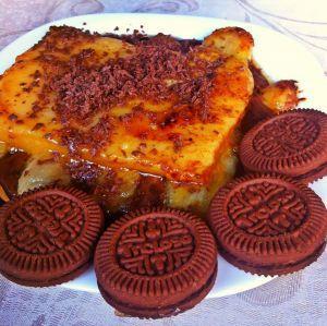 Receita de Cartola com Biscoito Treloso