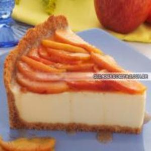 Receita de Cheesecake de Maça e Canela