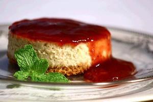 Receita de Cheesecake Integral Com Geléia de Uva e Morango