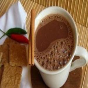 Receita de Chocolate quente picante