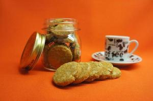 Receita de Cookie de Granola Light