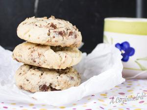 Receita de Cookies com Chocolate