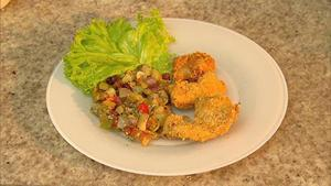 Receita de Cozido de jiló, chuchu e frango