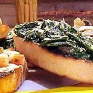 Receita de Crostini alla ruguetta