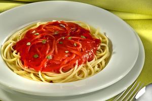 Receita de Espaguete ao Molho Falsê