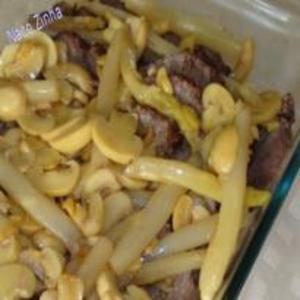Receita de Filé Mignon ao molho de aspargo e champignon