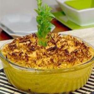 Receita de Frango com Requeijão e Batatas