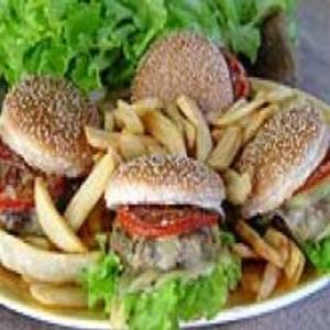 Receita de Hambúrguer à Napolitana