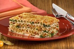 Receita de Lasanha Vegetariana aos 3 Queijos