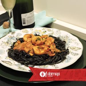Receita de Linguini com Frutos do Mar