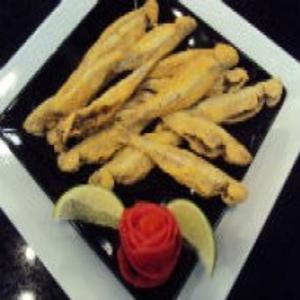 Receita de Manjubinha Fritas do Edu Guedes