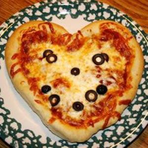 Receita de Massa de pizza na máquina de pão