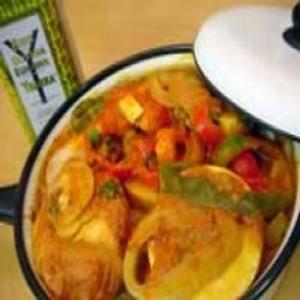 Receita de Moqueca de palmito-pupunha com azeite de oliva