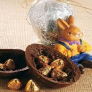 Receita de Ovo crocante de chocolate