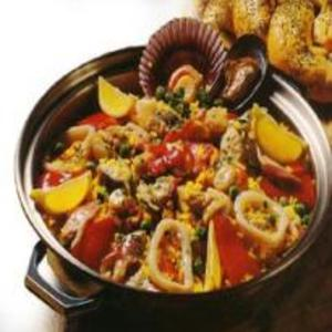 Receita de Paella Espanhola