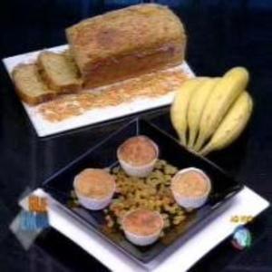 Receita de Pão de Banana do Edu Guedes