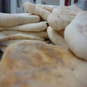 Receita de Pão sírio