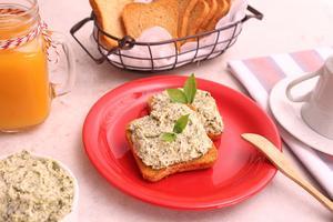 Receita de Pasta de Ricota com Brócolis