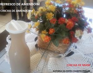 Receita de Refresco de Amendoim (Chicha de Amendoim)
