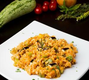 Receita de Risoto de Legumes Don Peppone