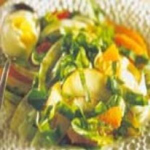 Receita de Salada agridoce