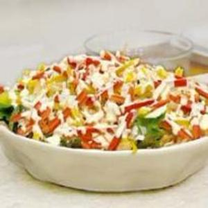 Receita de Salada Colorida Light