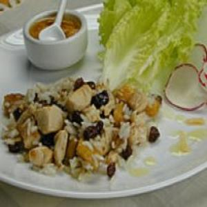 Receita de Salada de Arroz e Banana