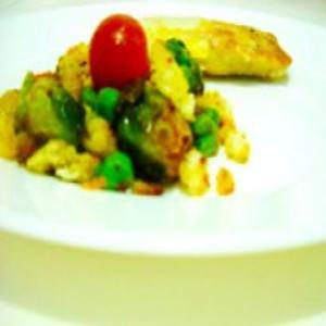 Receita de Salada de couve de Bruxelas