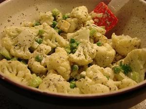 Receita de Salada de couve-flor com molho tártaro