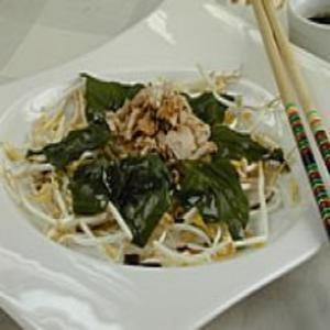 Receita de Salada de Espinafre e Atum