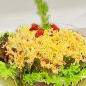 Receita de Salada de Macarrão Parafuso Maravilhosa