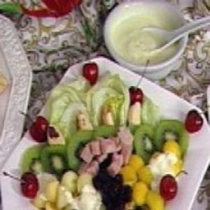 Receita de Salada de natal tropical